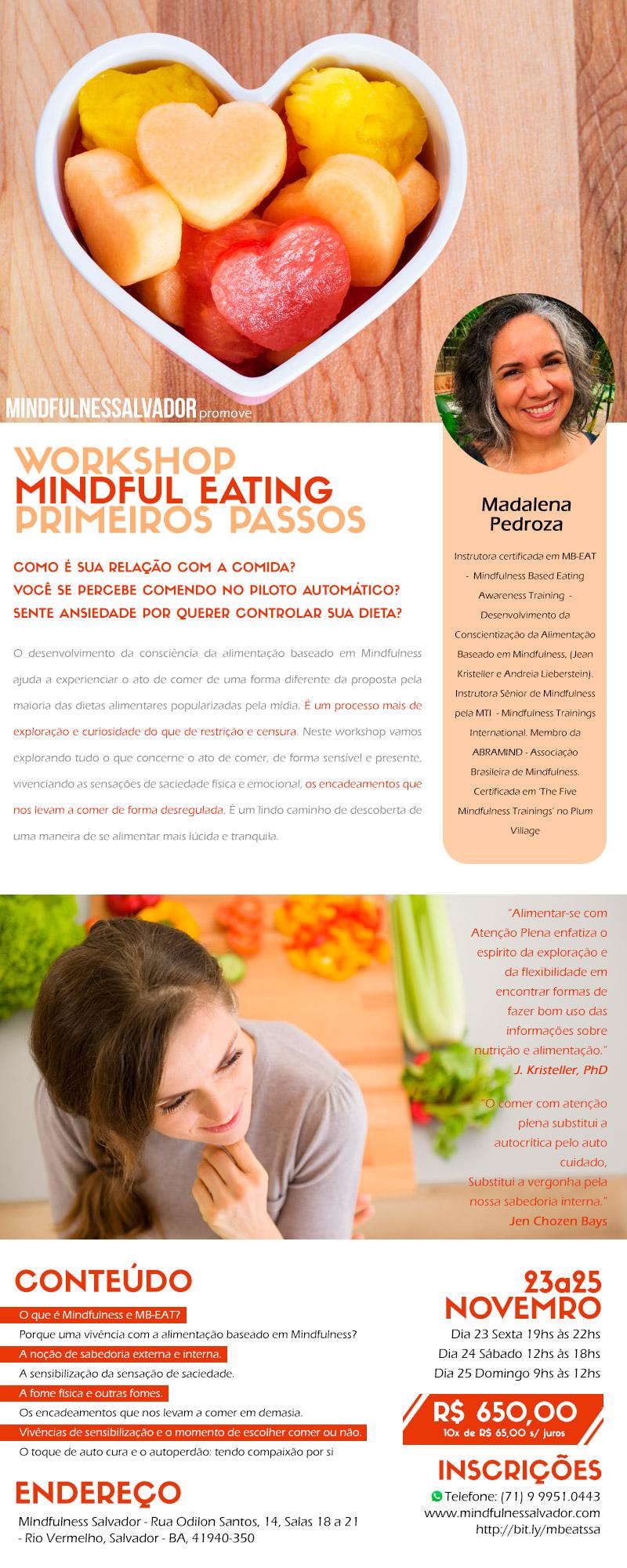 Mindful Eating Salvador Bahia